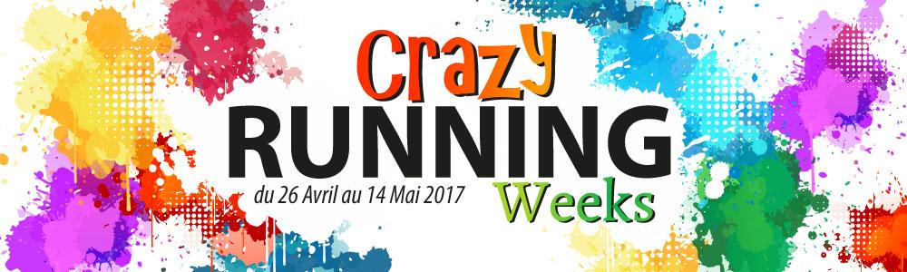 Crazy Running Weeks 2017