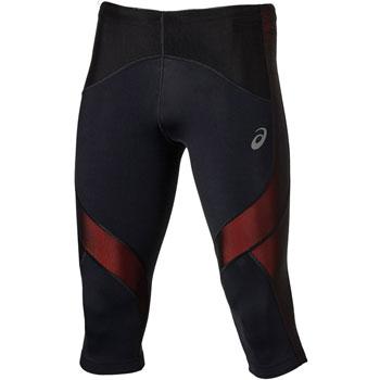 Corsaire Asics Leg Balance Knee Tight noir rouge M