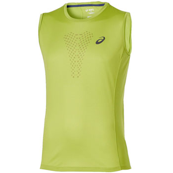Débardeur running Fujitrail Sleeveless Top jaune M