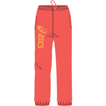 Pantalon Sigma orange
