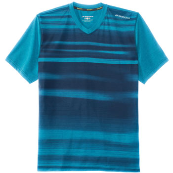 T-Shirt Fly-By Short Sleeve bleu