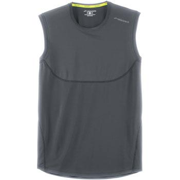 T-Shirt Steady Sleeveless gris