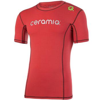Tee-Shirt running Tignes rouge H