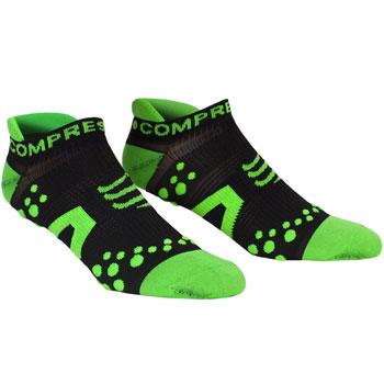 Chaussette ProRacing Socks Run LowCut verte