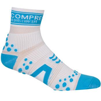 Chaussettes ProRacing Socks V2 Run Blanc Bleu