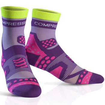 Racing socks Ultra Light Run High violet