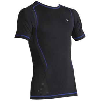 T-shirt compression compression Ventilator Web noir