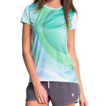 T-shirt Florida vert bleu