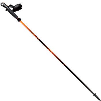 Bâton pliable trail Explore Carbon noir orange
