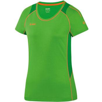 T Shirt Power vert orange