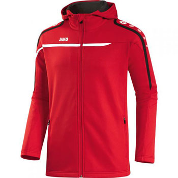 Veste à capuche Performance rouge