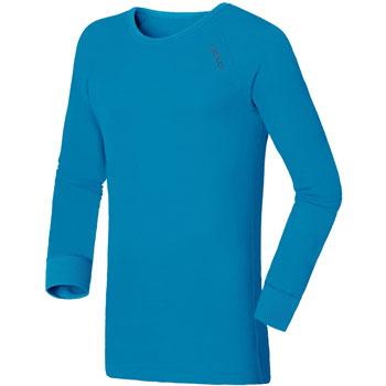 T-Shirt manches longues Warm bleu