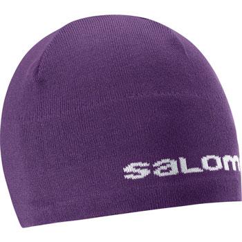 Bonnet Salomon Beanie violet