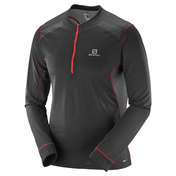 Maillot manches longues Fast Wing LS Tee M noir