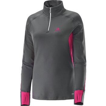 Maillot ML Trail Runner Warm Zip Ls Tee W
