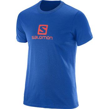 T-shirt Logo SS M bleu