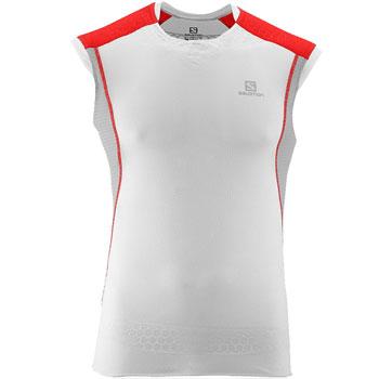 T-shirt sans manches Exo SLab Tank trail blanc