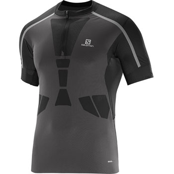 T-Shirt Sky HZ SS Tee noir gris