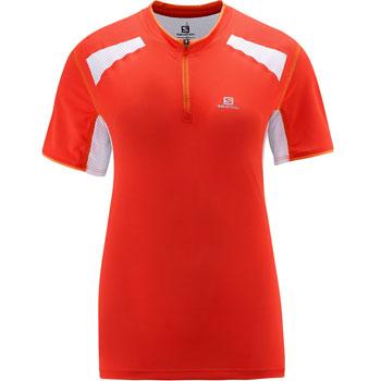Tshirt Ultra Trail Tee Nectarine femme