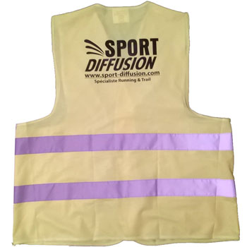 Gilet Fluo Sport-diffusion