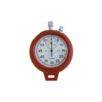 Etui rouge bandoulière chronomètre CH caoutchouc