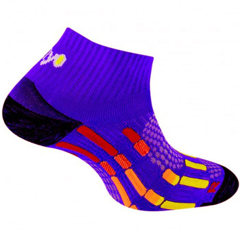Chaussettes Pody Air Run violet