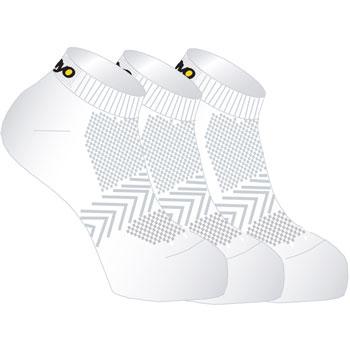 Lot de 3 paires de chaussettes multisports blanc