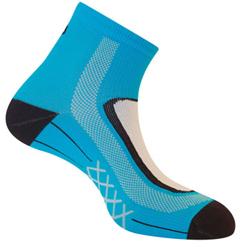 Socquettes Run Lighty bleues running