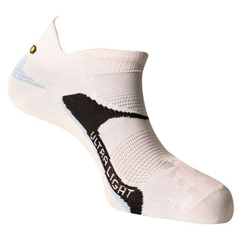 Socquettes running Ultra light blanches