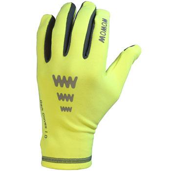 Gants Dark Gloves 1.0 jaune fluo