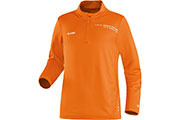 Maillot manches longues Zip Top Speed orange