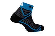 Socquettes Energy Run Noir-bleue