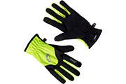 Gants winter glove jaune et noir