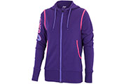 Sweat W's Full Zip Hoodie Fleece violet rose