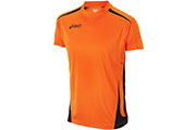 Tshirt Carl running M orange