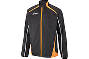 Veste WindBraker Colin M noir orange