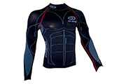 Maillot technique de compression manches longues