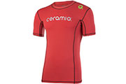 Tee-Shirt running Tignes rouge H