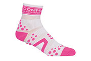 Chaussettes ProRacing Socks V2 Run Blanc Rose