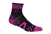Chaussettes ProRacing Socks V2 Run Noir Rose