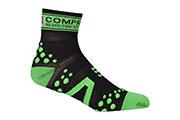 Chaussettes ProRacing Socks V2 Run Noir Vert