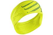 headband jaune fluo