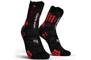 Pro Racing Socks V3.0 Trail Noir Rouge