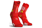 Pro Racing Socks V3.0 Trail Rouge Blanc
