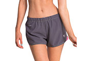 Short Running Aura gris rose
