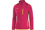 Veste Power rose-jaune