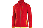 Veste Power rouge jaune F
