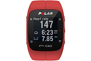 Montre GPS M400 HR rouge