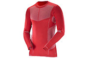 Maillot manches longues Primo Warm CN M rouge