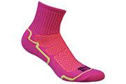 Chaussettes Aero Dry fuschia